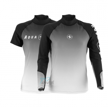 AQUA LUNG Rashguard Range UV50 Lady Grey Grau