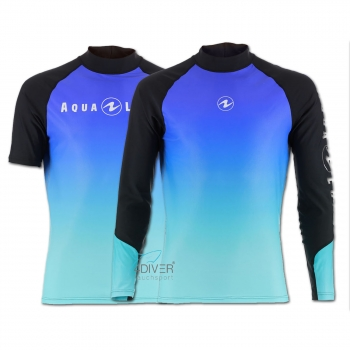 AQUA LUNG - Rashguard Range UV50 Man Frozen Blue