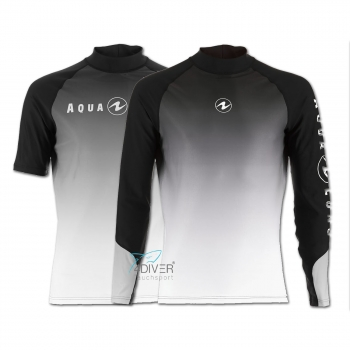 AQUA LUNG - Rashguard Range UV50 Man Black White
