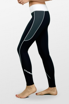 SCUBAPRO GRAPHITE T-FLEX LEGGINGS UPF80