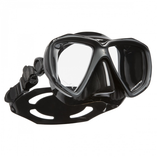 SCUBAPRO SPECTRA MASKE ALL BLACK