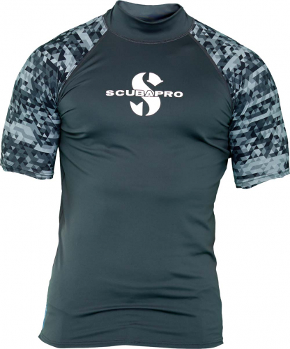 SCUBAPRO RASH GUARD GRAPHITE